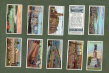 Tobacco cigarette cards set Dominions Australia 1915